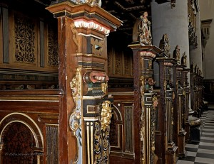 fragment wnętrza kaplicy
