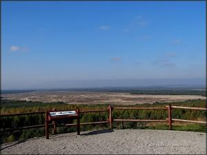 Klucze-wzgórze Czubatka. Punkt widokowy na Pustynię